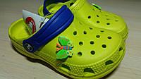 Шлепанцы летние кроксы детские пляжные оптом