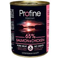 Profine Dog k 400g, лосось,курица,картофель - консервированный корм для взрослых собак