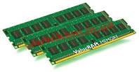 Оперативная память Kingston 12GB 1600MHz DDR3L ECC Reg CL11 DIMM (Kit of 3) SR x8 (KVR16LR11S8K3/12)