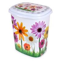 Корзина для белья Elif Цветы