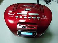 Бумбокс GOLON 627Q USB SD АКБ ПУЛЬТ ЗАПИСЬ РАДИО