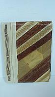 Записная книжка ручной работы из натуральных листьев