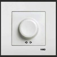 Выключатель диммер внутренний 600w VIKO Karre белый 0020