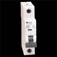 Автоматический выключатель 1C (однополюсный) 10А 4,5КА 230/400V Тип C VI-KO 4VTB-1C10