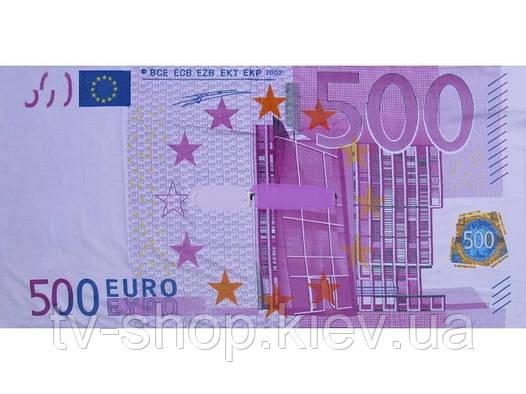 """Полотенце пляжное  """" Евро"""""""