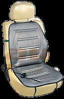 Накидка на сиденье с 2-х режимным подогревом ✓  1шт. ✓  цвет: серый