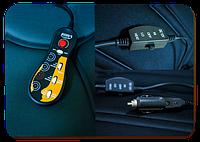 Накидка на сиденье с 5-ю моторами и подогревом  ✓  1шт. ✓  цвет: черный