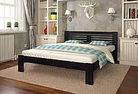 Кровать деревянная Шопен из натурального дерева односпальная