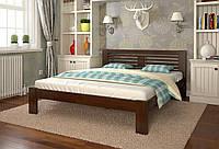 Кровать деревянная Шопен из натурального дерева полуторная, фото 1
