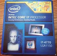 Процессор Intel Core i7-4770 3.40GHz, s1150, BX80646I74770, BOX