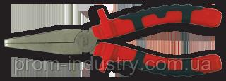 Плоскогубцы удлиненный плоский нос 160 мм TITACROM BIMAT, фото 2