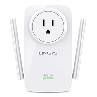 Расширитель сети Linksys RE6700 / AC1200 AMPLIFY DUAL-BAND WI-FI RANGE EXTENDER