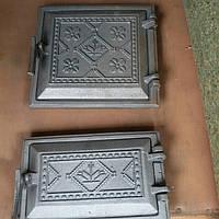 Дверцы топочные Вышиванка ( пара )