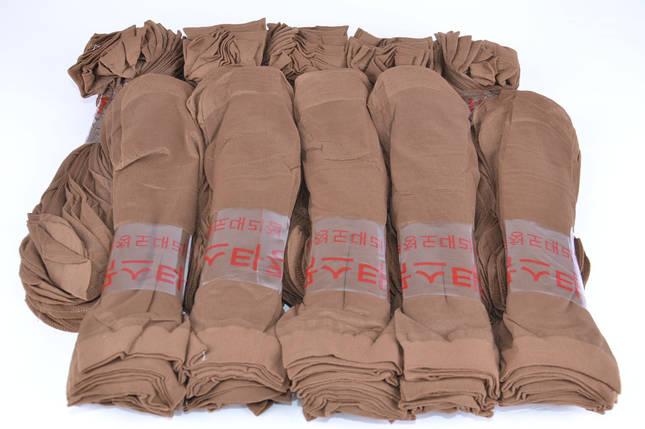 Носки капроновые Кофе (Арт.YL5208/CF)   10 пар, фото 2