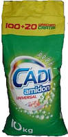 Стиральный порошок Cadi Amidon Universal 10 кг 120 стирок Германия