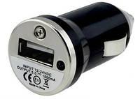 Автомобильная USB зарядка от прикуривателя 12v мини на 1000mA