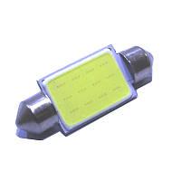 Лампочка автомобильная COB 36мм 12В 3Вт, фото 1