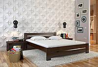 Кровать деревянная Симфония из натурального дерева односпальная, фото 1