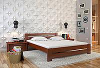 Кровать деревянная Симфония из натурального дерева