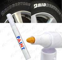 Водостойкий маркер для нанисения и наводки надписей на шинах , фото 1