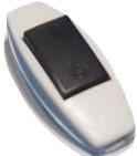Выключатель для бра черная кнопка ВШ21 Киев
