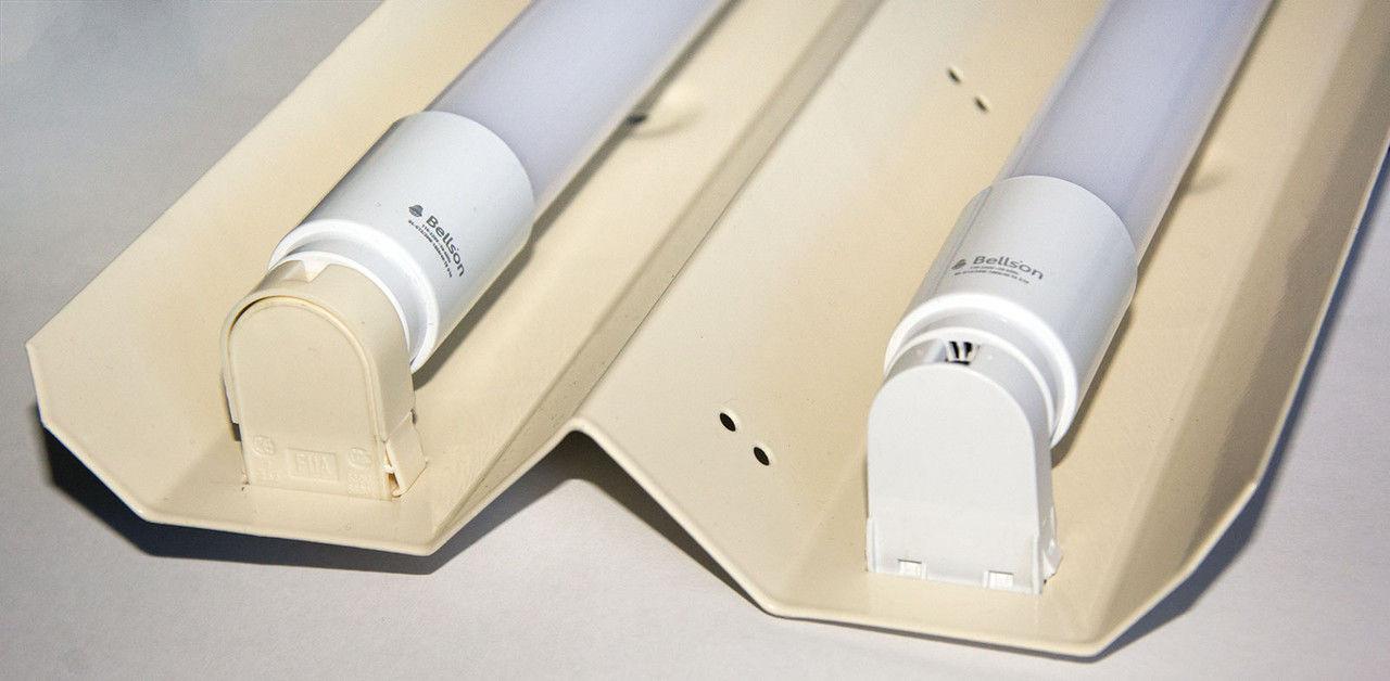 Светильник «Бат» 2х600 мм, без ламп