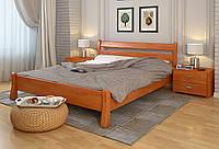 Кровать деревянная Венеция из натурального дерева односпальная