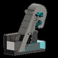 Канальная механическая грабельная решетка для средней и тонкой механической очистки сточных вод BLT-400