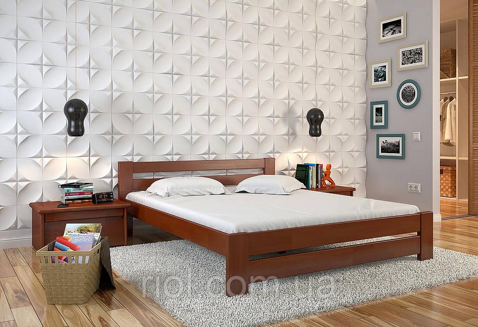 Кровать деревянная полуторная Симфония