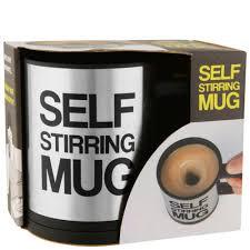 Кружка мешалка Self mixing mag cup