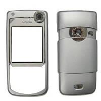 Корпус для Nokia 6680, High Copy, серебристый /панель/крышка/накладка /нокиа