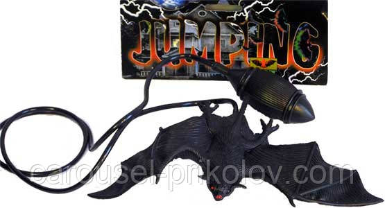 Летучая мышь - прыгалка