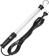 Лампа люминесцентная; кабель 5 метров H05RN-F 2x0,75; 8Вт