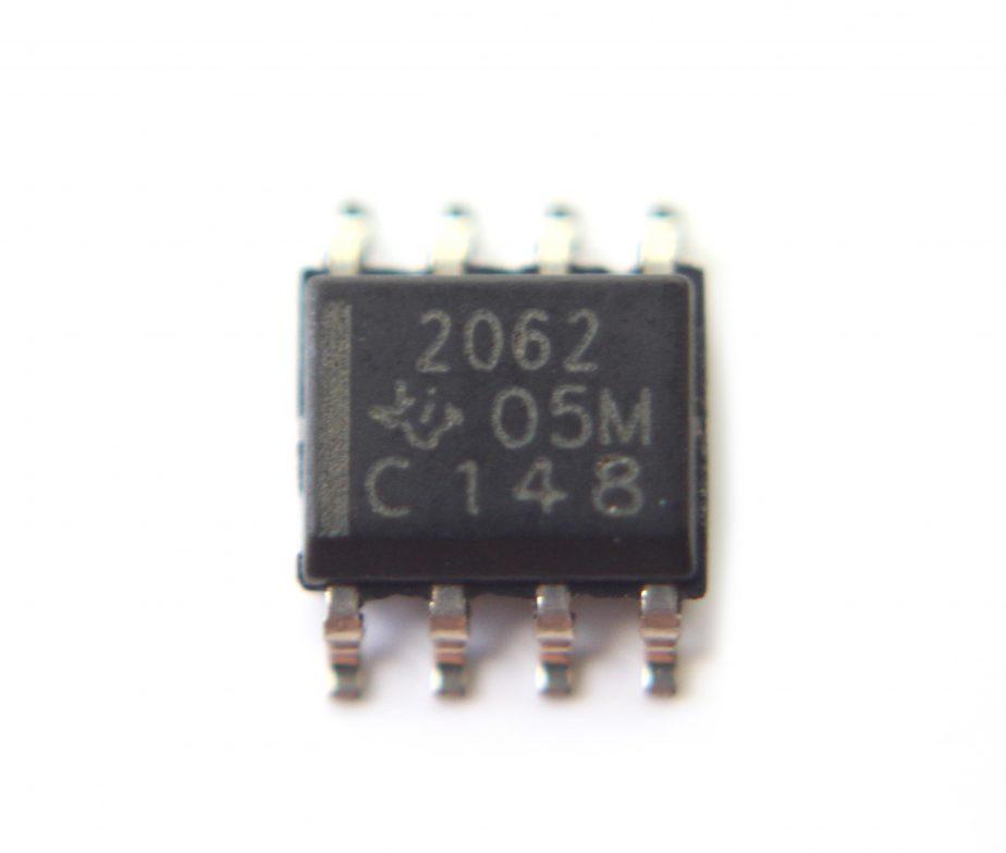 TPS2062DR микросхема распределитель питания, двойной высокой стороны, активный низкий 2 выхода 5.5В 1.5А SOP8