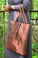 Сумка женская вертикальная из натуральной кожи, фото 1