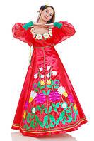 Костюм Лета расшитый цветами женский