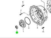 Сальник гидротрансформатора 5-АККП (пр-во SsangYong) 0189970447