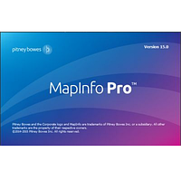 ГИС MapInfo Professional 15 English (ESTIMap)