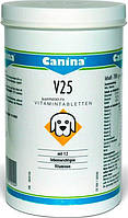 Canina V25  поливитаминный комплекс  для щенков, молодых собак,лакт. сук 700г (210 табл)