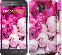"Чехол на Samsung Galaxy J7 J700H Розовые пионы ""2747c-101"""