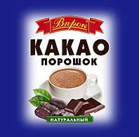"""Какао порошок натуральный 75 г  ТМ """"Впрок"""""""