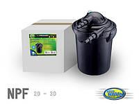 Фильтр для пруда напорный с УФ-лампой AquaNova NPF-20