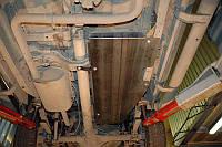 Стальная защита топливного бака для Nissan Navara D40