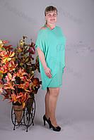 Блуза 2913-439/3 шифон больших размеров оптом