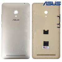 Задняя панель корпуса для Asus ZenFone 6 A600CG, золотистая, оригинал