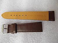 Ремешки заменитель коричневый гладкий ширина 12-20 мм, фото 1