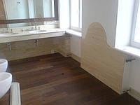 Столешницы из натурального камня в ванную комнату