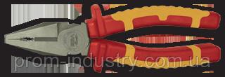Пассатижи VDE 160 мм MASTERCUT TITACROM BIMAT 1000V, фото 2