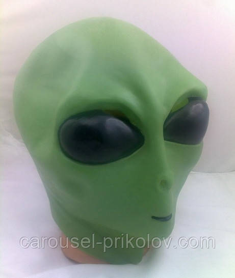 Маска инопланетянин на Хэллоуин