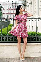 Платье с поясом на плечи 03/337